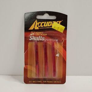 Accudart Polycarbonate Shafts 2BA Size 3 Pack 3/16 Medium