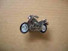 Pin Anstecker Yamaha Virago XV 750 / XV750 schwarz black Art. 0356 Motorrad