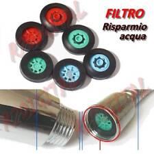 FILTRO 6 L/min RISPARMIO ACQUA 40% VERDE RUBINETTO DIFFUSORE AREATORE RIDUTTORE