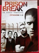 RARO!!!PRISON BREAK (COFANETTO 16 DVD) - LA SERIE COMPLETA - STAGIONI 1- 2 - 3