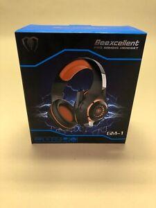 Beexcellent GM-1 Gaming Headset Surround Sound & Noise-Isolation Mic Orange