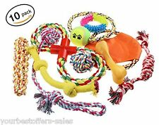 Dog Toys Lot Pet Toys 10 Pack Dog Ball Toy Dog Supplies Assorted Toys Variety