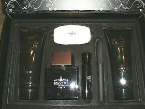 Enjoy Me Noir Fragrance Men's Gift Set -  NIB