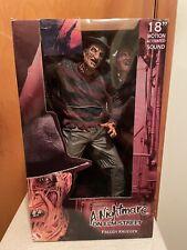 "NECA Reel Toys 18"" Freddy krueger Figure Nightmare on Elm Street Motion Sound"
