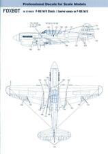 Foxbot Decals 1/72 CURTISS P-40 WARHAWK STENCILS