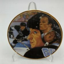 "1989 Wayne Gretzky Gartlan VERY Limited Edition Mini Plate 3"" NHL Free Stand"