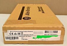 New Sealed Allen Bradley 1746-NO4I Series A SLC 500 Analog Current Output 4-Ch