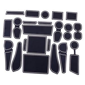 Car Gate Slot Cup Mat Accessories Cup Holder fit for Isuzu D-Max MU-X 12-19