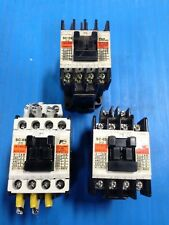 LOT OF 3 USED FUJI ELECTRIC SC-03 MAGNETIC CONTACTOR SC11AA U5
