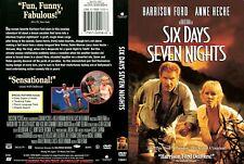 Six Days, Seven Nights  ~ DVD ~ Harrison Ford, Anne Heche (1998) BVHE