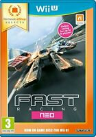 NEW & SEALED! Fast Racing NEO eShop Selects Nintendo Wii U Game