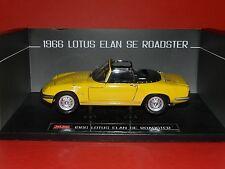 Sun Star 1/18 1966 Lotus Elan SE Roadster Yellow MIB