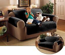 Emma barclay Matelassé Résistant à l'eau / Housse Protecteur de meubles, noir, canapé …