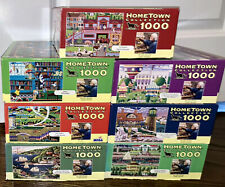 Lot 7 Hometown Collection Heronim Wysocki 1000 Puzzles Library Easter Sausalito