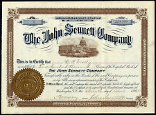 USA: John Sennett Co., $1 shares capital stock, 1904