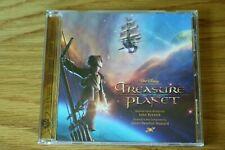 RARE DISNEY TREASURE PLANET CD SOUNDTRACK JAMES NEWTON HOWARD 2002 GERMANY