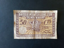 BILLETE LOCAL 50 CTS CONSEJO MUNICIPAL DE ALBACETE
