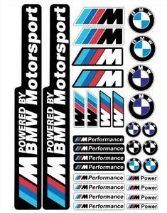 BMW  Set sticker decal