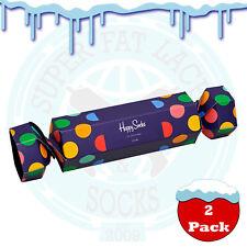 Happy Socks Women's Big Dot Christmas Cracker Gift Box - 2 Pack