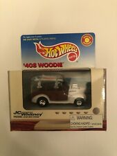 HOT WHEELS JC Whitney 40's Woodie white
