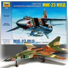ZVEZDA 1/72 SOVIET MIG-23MLD SOVIET VARIABLE GEOMETRY FIGHTER KIT