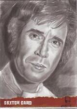 "The Wicker Man - Marcia Dye ""Lord Summerisle - Christopher Lee"" Sketch Card"