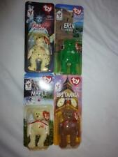 Lot of 4 NEW in BOX RARE 1999 Retired McDonald's Ty Beanie Baby W/ ERRORS