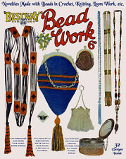 Bestway #56 c.1920 Vintage Patterns for Bead Purses & More in Knitting & Crochet