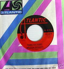 WILSON PICKETT 45 Funk Factory / One Step Away MINT