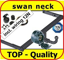 Towbar & Electric 12N VW Golf IV 4 Hatchback 1998 - 2004 / swan neck Tow Bar