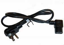 Polaroid, Emerson, Telehealth, Orion, LCD LED Plasma New TV Power Cord Cable 3'