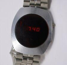 Vintage SEARS ROEBUCK 1970s Mens LED Wristwatch - Good Working