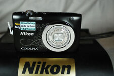 Excellent Nikon COOLPIX S2600 14MP Compact Digital Camera - Choice of Colours