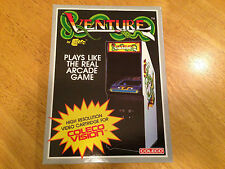 VENTURE -- for COLECOVISION Video Game System - FRESH CASE - NEW & SEALED -- NIB