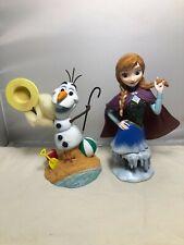 Disney Showcase Grand Jester Studios frozen Olaf & Anna