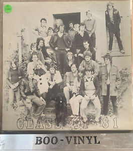 CLASS OF 81 do-nutt 81 south london bands comp Lp  Various artists punk new wave