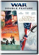 GETTYSBURG + GODS AND GENERALS DVD SET NEW