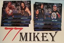 2016 WWE TOPPS THEN NOW FOREVER WWE RIVALRIES PICK 1 FROM THE LIST FOR $1.50