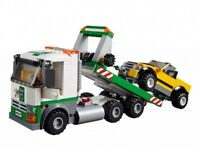 LEGO TOW TRUCK with Driver and Yellow Car - NEW - 60097 City Square NO BOX
