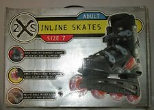 NEW in Box-ADULT-Size 7-INLINE SKATES!  BLACK
