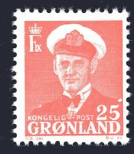 Greenland 1950 25 Ore King Frederik IX Mint Unhinged