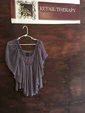 Adorable Moda International Lilac Blouse S