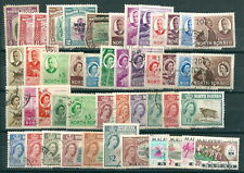 NORTH BORNEO SABAH MALAYSIA selection of fine used 1939 to 1965