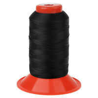 Black Strong Nylon Sewing Thread Large 500meters Heavy Duty Spools