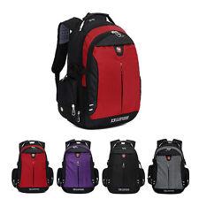 "16"" Men Travel Bag Laptop Swiss Gear Backpack Computer School Student Backpack"