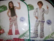 Choix d un deguisement enfant fille ou garçon hippie taille unique de 4 a 6 ans