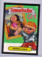GARBAGE PAIL KIDS CHROME SERIES 2 GPK BLACK REFRACTOR 65/99 MONA LOSER R10B