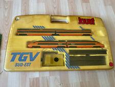 train TGV SUD-EST jouef 7321 vintage 1989/94 etat parfait boite, notice