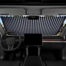 Sharper Image Retractable Car Windshield Sunshade UV Reflector Universal TrimFit