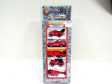 Mega Movers Emergency Vehicle Diecast Rescue Car Tow Truck Helicopter NIP